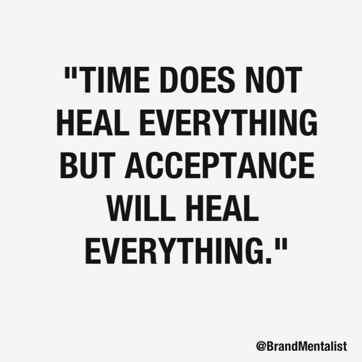 Healing by Acceptance